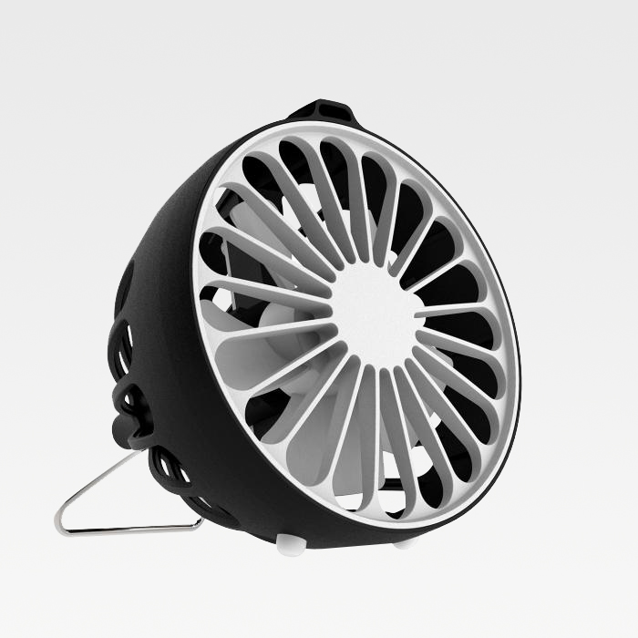 USB Anion Fan - Model F1 black