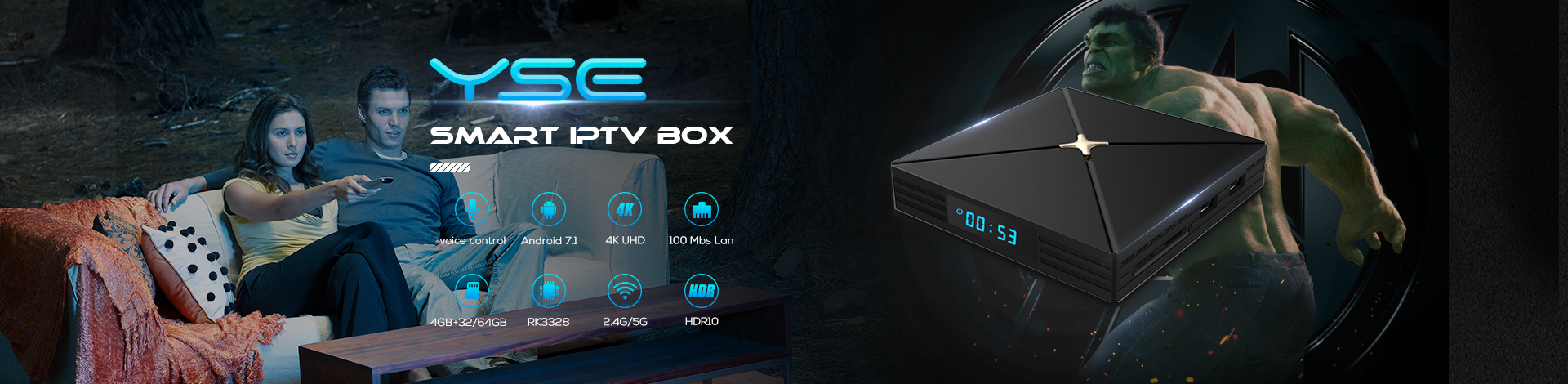 YSE - Android tv box