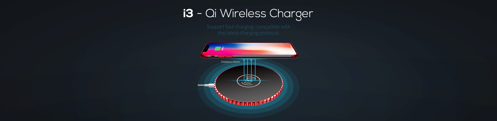 I3 - Qi Wireless Charger